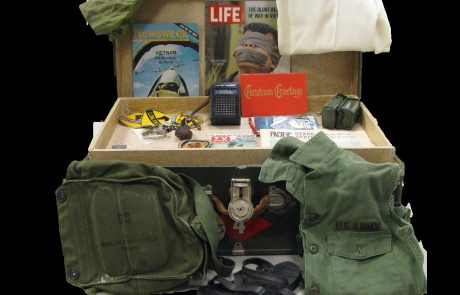 Vietnam era trunk contents.